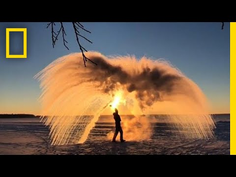 Here's How Boiling Water Can Turn Into Ice | National Geographic