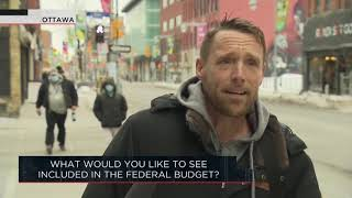 What would you like to see included in the federal budget? | Outburst