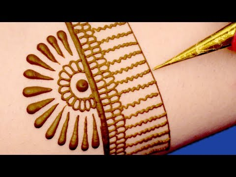 Stylish Mehndi Design for Hands | Henna Design for Hands @ ekunji #058