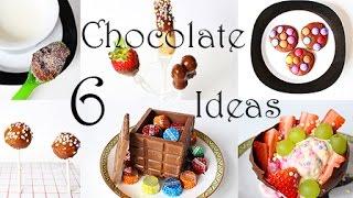 Küche Kreativ: 6 tolle Ideen mit Schokolade. Hacks und Tricks für Party und Kindergeburtstag.
