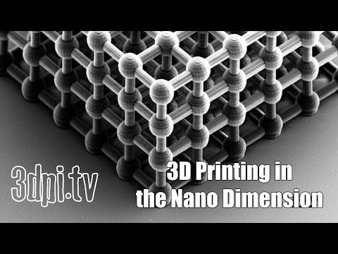 Commercial 3D printer for Nanostructures