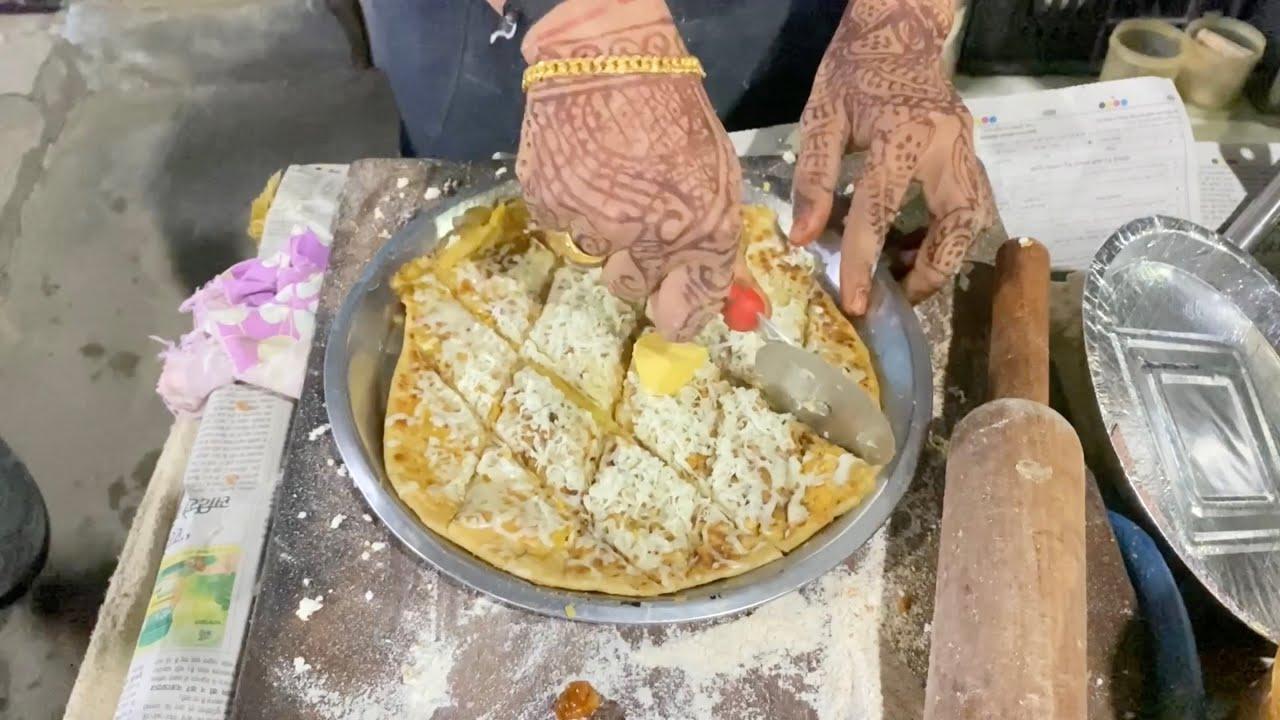 Shaahi Paratha of Indore | Sev Wala Paratha | Indian Street Food