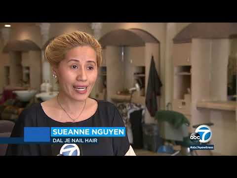 Against State Orders, OC Hair And Nail Spa Owner Says She's Keeping Doors Open   ABC7