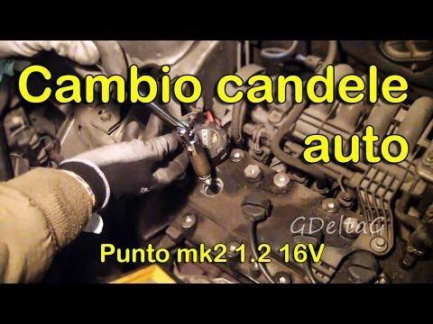 Sostituzione Candele Auto Fiat Punto Mk2 1.2 16V