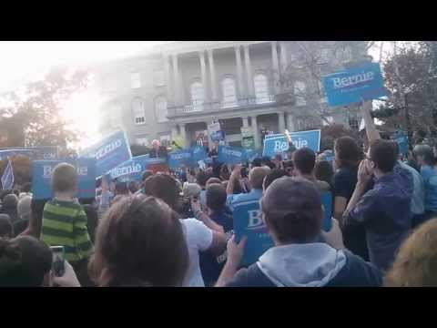 Bernie Sanders Filing Day Rally