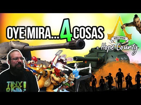 Oye mira 4 cosas - Smash Bros Coaching, Red Dead Redemption 2 Delay, World of Tanks, Ánimo Far Cry 5