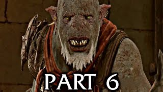 Shadow of War Walkthrough Gameplay Part 6 - Ronk (Middle-earth)