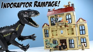 LEGO Jurassic World Fallen Kingdom Indoraptor Rampage at Lockwood Estate 2018