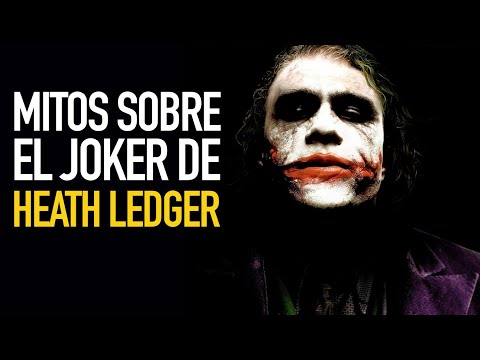 Los mitos del Joker de Heath Ledger