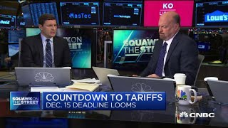 Jim Cramer: Investors continue to believe in a US-China trade deal because it's 'rational'