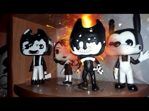 ПОСЫЛКА из АМЕРИКИ ПО БЕНДИ?! BENDY AND THE INK MACHINE HOT TOPIC MYSTERY BOX ОБЗОР ИГРУШКА МЕРЧ
