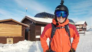 СПУСК НА ЛЫЖАХ СПИНОЙ ВПЕРЕД Лучший лыжник Красной Поляны Горнолыжное МОЧИЛОВО
