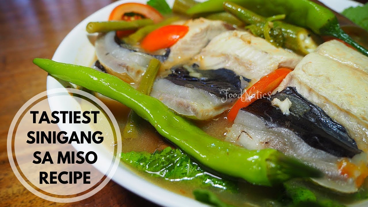 Sinigang Na Bangus Sa Miso The Best Way To Cook Sinigang Na Bangus Sa Miso Foodnatics Youtube