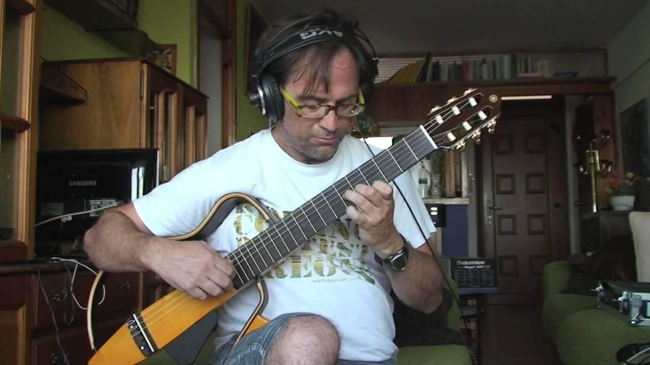 La chica de ipanema tom jobim yamaha silent guitar for Yamaha silent guitar slg130nw