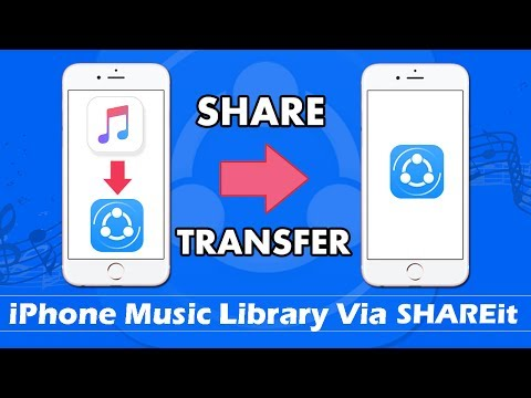 How To ShareTransfer Music From iPhone Music Library via SHAREit Without Computer