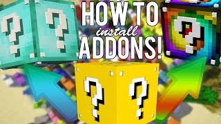 How to Install Lucky Block Addons 1.8.9!! (Super Easy)
