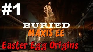 CoD Zombies EASTER EGG Origins on BURIED: MAXIS Side [1] ★ CoD Black Ops 2 Zombies