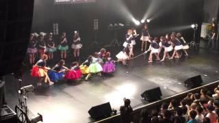 「PLATINUM SONIC 2015」綱引き対決(PASSPO☆ vs predia) ※竹中夏海先...