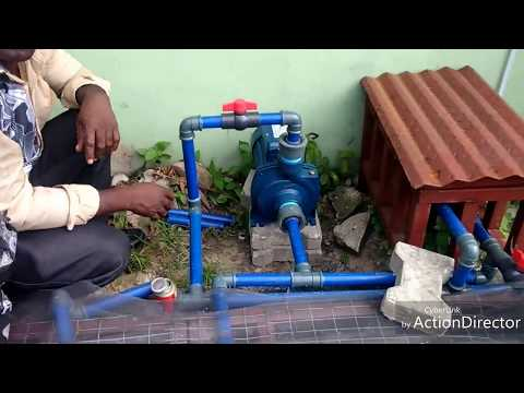 MARK ANGEL FISH FARM: INSTALLATION OF SECOND WATER PUMP FOR EASY DISCHARGE OF POND WATER
