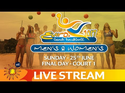 Re-Live: Court 1 - Beach Handball EUROS | Final Day | Zagreb, Croatia