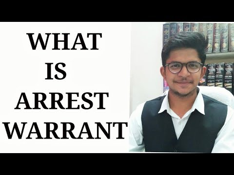 What is Arrest Warrant - Bailable and Non Bailable - Criminal Procedure Code - Dhananjay Sharma