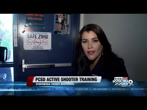Active shooter training at Cienega High School