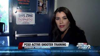Active shooter training at Cienega High School