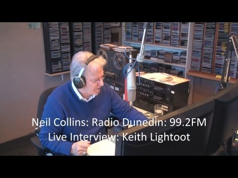Radio Dunedin: Live Interview Keith Lightfoot: Gray Bartlett's Kiwi Icons