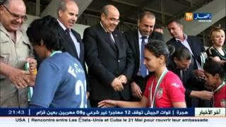 هكذا توجت سيدات جمعية الأمن الوطني بكأس الجمهورية لكرة القدم