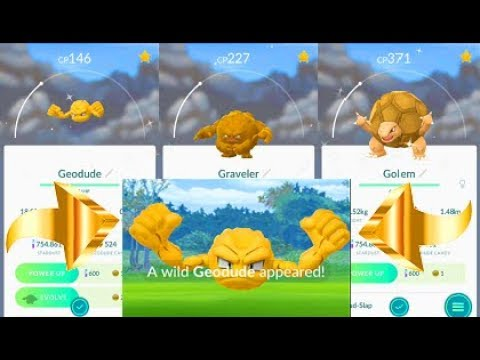 Image result for shiny geodude in pokemon go