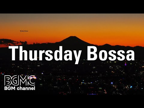 Thursday Bossa: June Coffee Jazz Music - Tender Piano Jazz Playlist for Morning, Work, Study