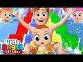 ¡Disfrutemos el Parque Acuático! | Little Angel en Español |