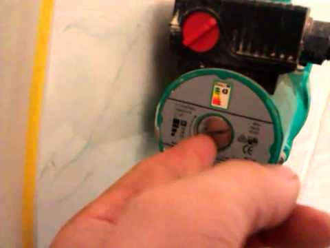 Как регулировать циркуляционный насос для отопления