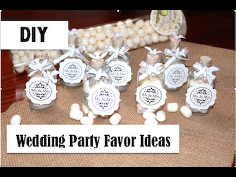 Diy Easy Wedding Party Favor Idea Vintage Bottle Dove Theme