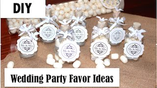 DIY Easy Wedding Party Favor Idea-Vintage Bottle Dove Theme