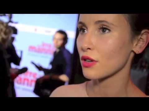 """Josefine Preuß, Peri Baumeister und Milan Peschel - Premiere """"Irre sind männlich"""""""