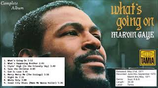 Video Marvin Gaye -  What's Going On (Complete Album) download MP3, 3GP, MP4, WEBM, AVI, FLV April 2018