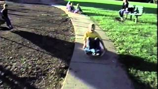 Flying Turtle ® Sit-Skate Scooter