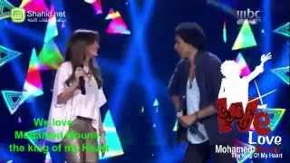 Arab Idol - محمد منير ونانسي عجرم ( المووووزه ) - حارة السقايين