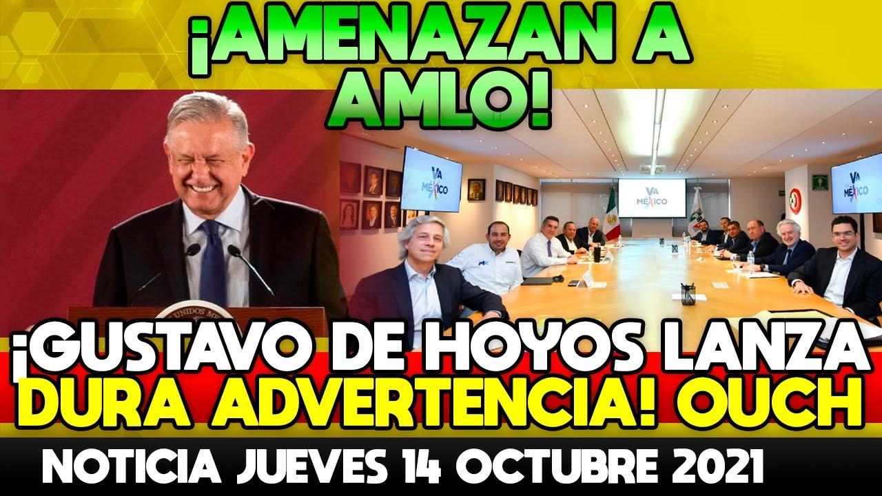 AMENAZAN A AMLO! GUSTAVO DE HOYOS Y CLAUDIO X. GONZÁLEZ LE LANZAN ADVERTENCIA! NO LO PERMITIREMOS!