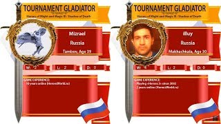 Heroes 3. SoD. Mizrael vs illuy. 1/16 Low Bracket. Arena FBA. Турнир Гладиатор!