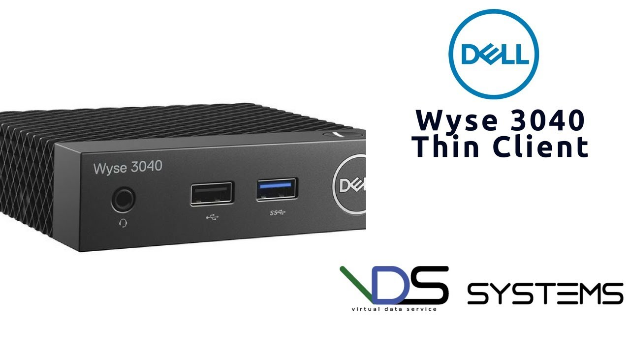 DELL WYSE 3040 Thin Client with Linux(ThinLinux 2 0