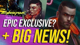 Cyberpunk 2077 News - Epic Store & Gameplay Details!