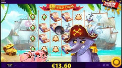 Piggy Pirates Slot - Wild Lines Big Win!
