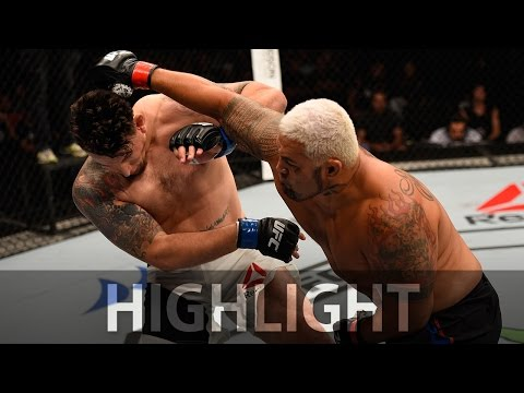 Mark Hunt Vs. Frank Mir - UFC Fight Night Highlights