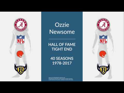 Ozzie Newsome: Hall of Fame Football Tight End