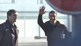 Milan, ecco l'arrivo di Ibra a Linate!