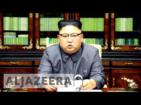 North Korea's Kim Jong-un addresses world for the first time