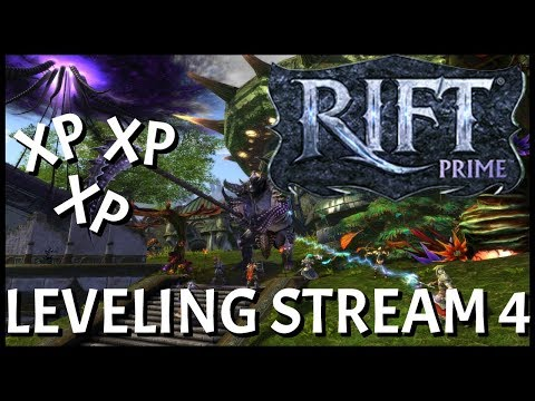 RIFT Prime: Leveling Stream #4 | All About The XP To Level 50