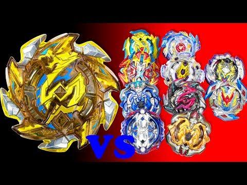Beyblade Burst Alexey gave the new Hell Salamander to the Dad. Сool battles vs 10 beys